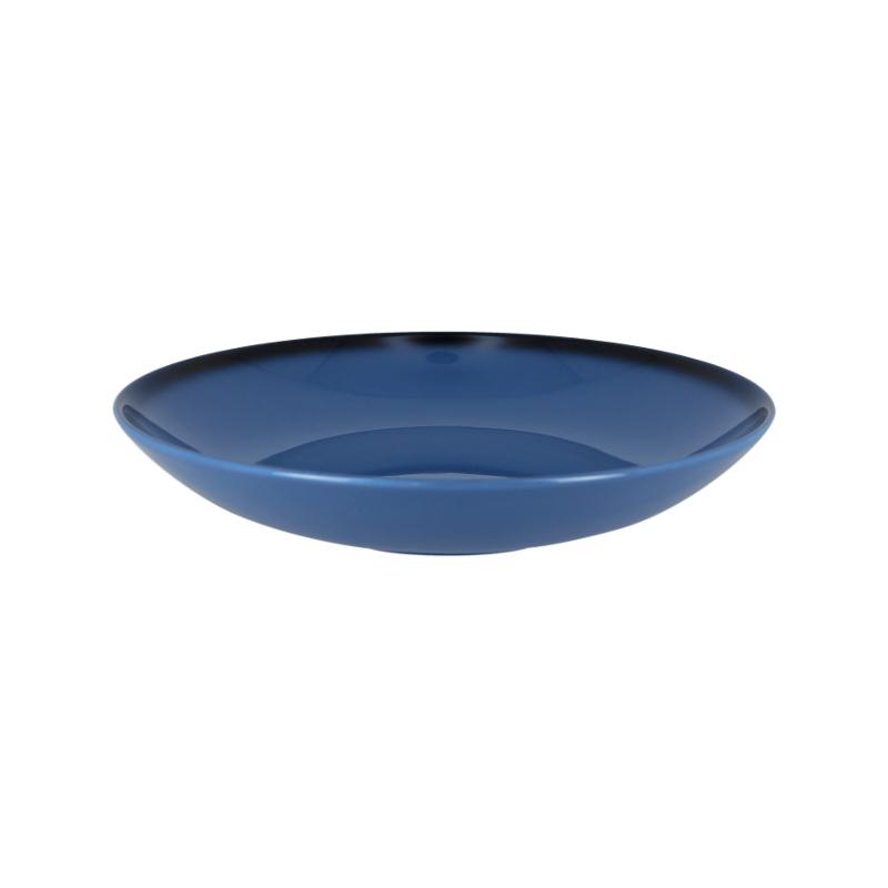 Talíř hluboký kulatý 120 cl - modrá