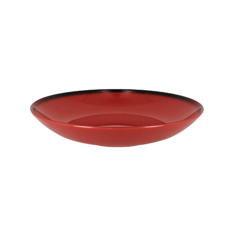 RAK Talíř hluboký kulatý 120 cl - červená