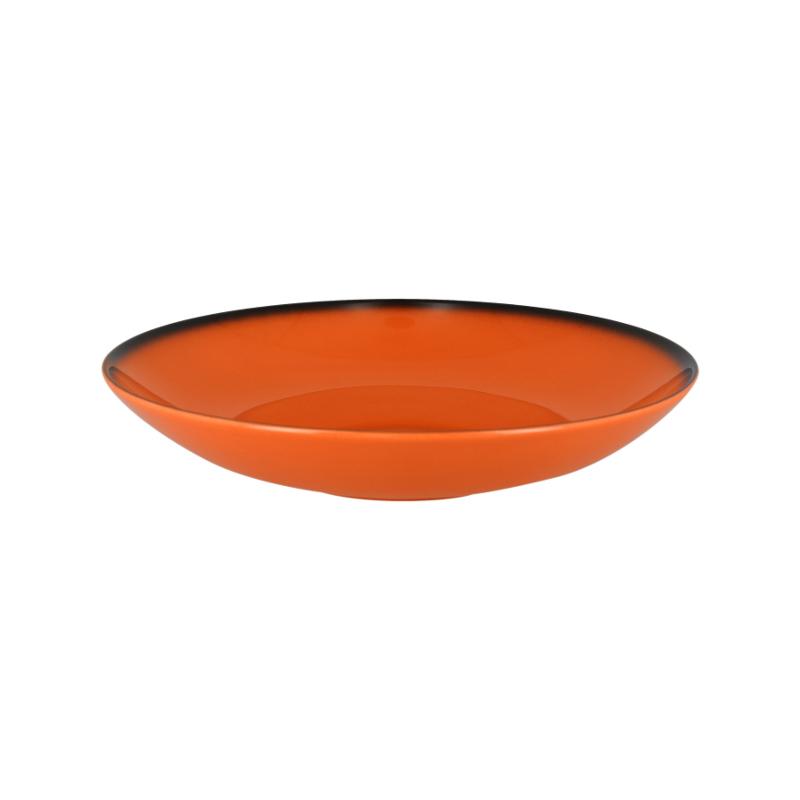 RAK Talíř hluboký kulatý 120 cl - oranžová