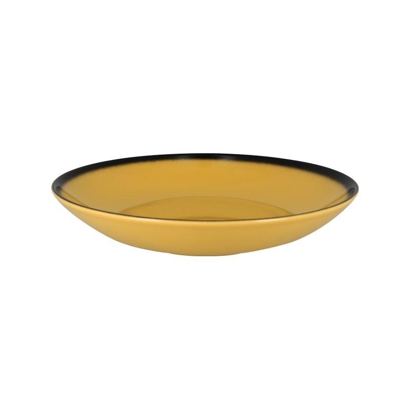 RAK Talíř hluboký kulatý 120 cl - žlutá