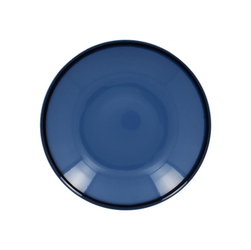 RAK Talíř hluboký kulatý 69 cl - modrá