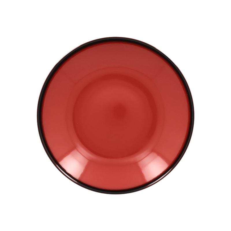 RAK Talíř hluboký kulatý 69 cl - červená