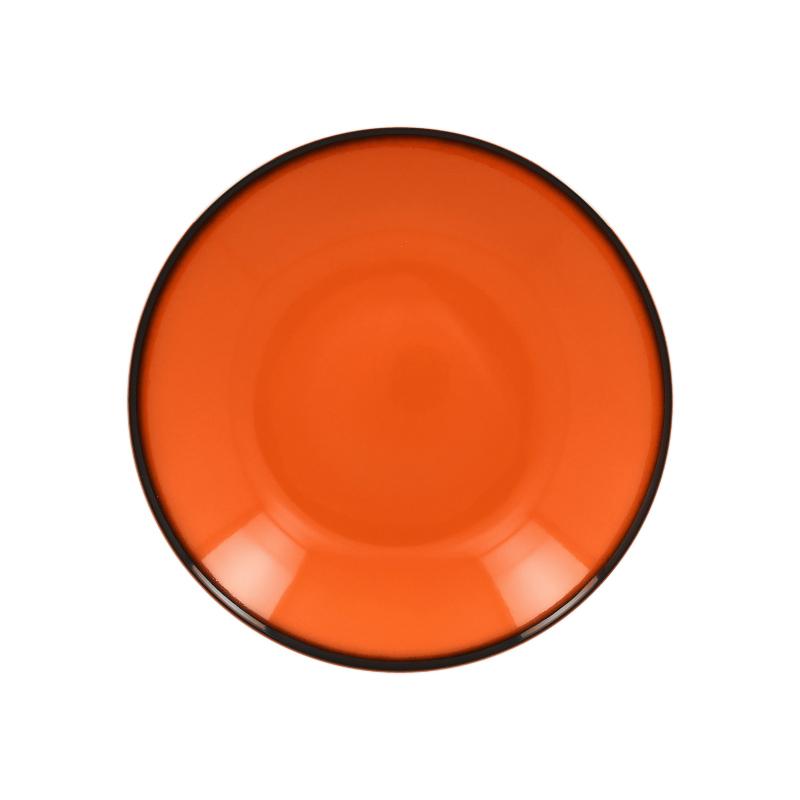 RAK Talíř hluboký kulatý 69 cl - oranžová