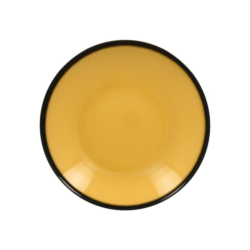 RAK Talíř hluboký kulatý 69 cl - žlutá