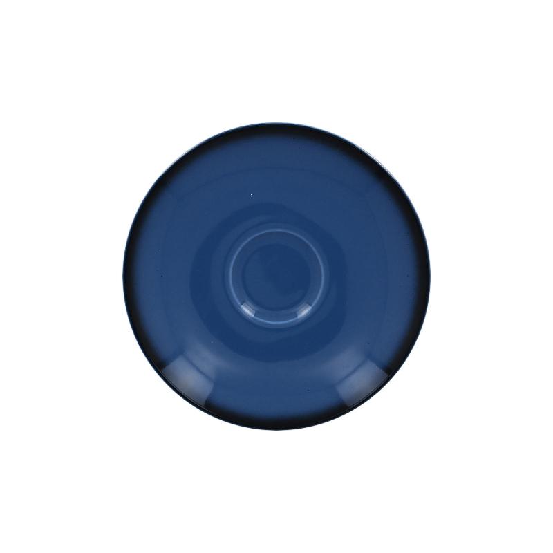 Podšálek kulatý 17 cm- modrá