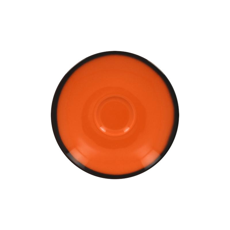 Podšálek kulatý 17 cm - oranžová