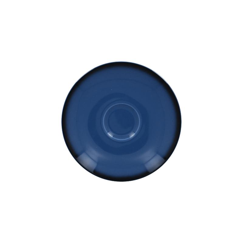 Podšálek kulatý 15 cm - modrá