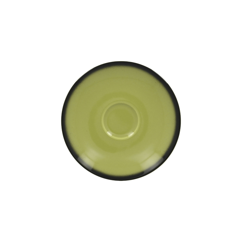 Podšálek kulatý 15 cm - zelená