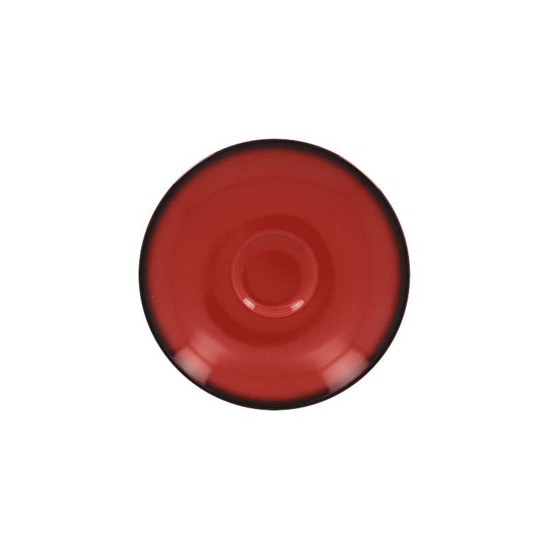 Podšálek kulatý 15 cm - červená