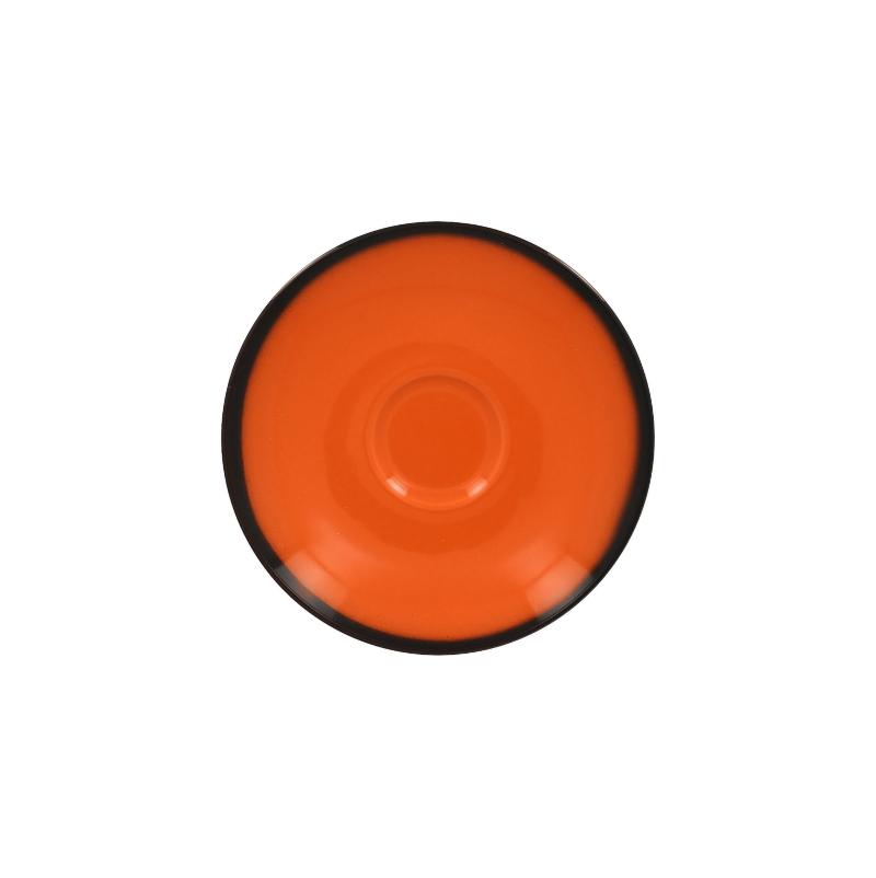 Podšálek kulatý 15 cm - oranžová