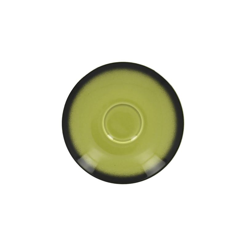 Podšálek kulatý 13 cm - zelená