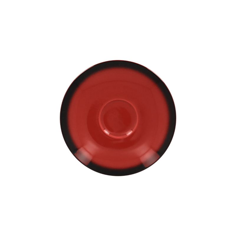 Podšálek kulatý 13 cm - červená