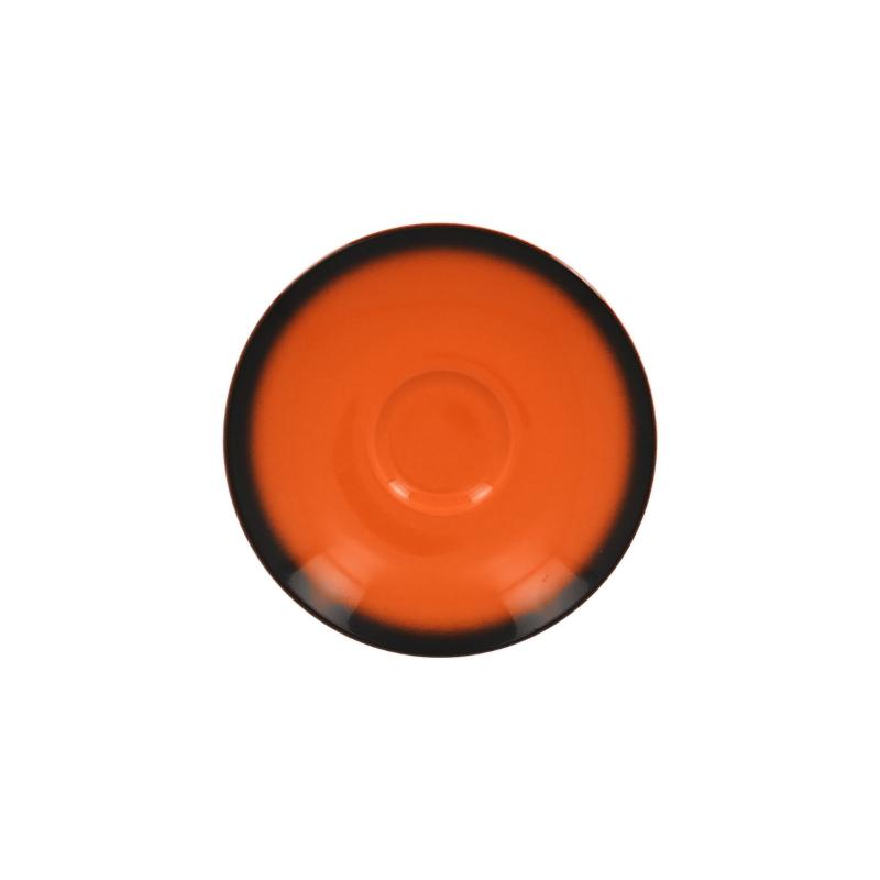 Podšálek kulatý 13 cm - oranžová