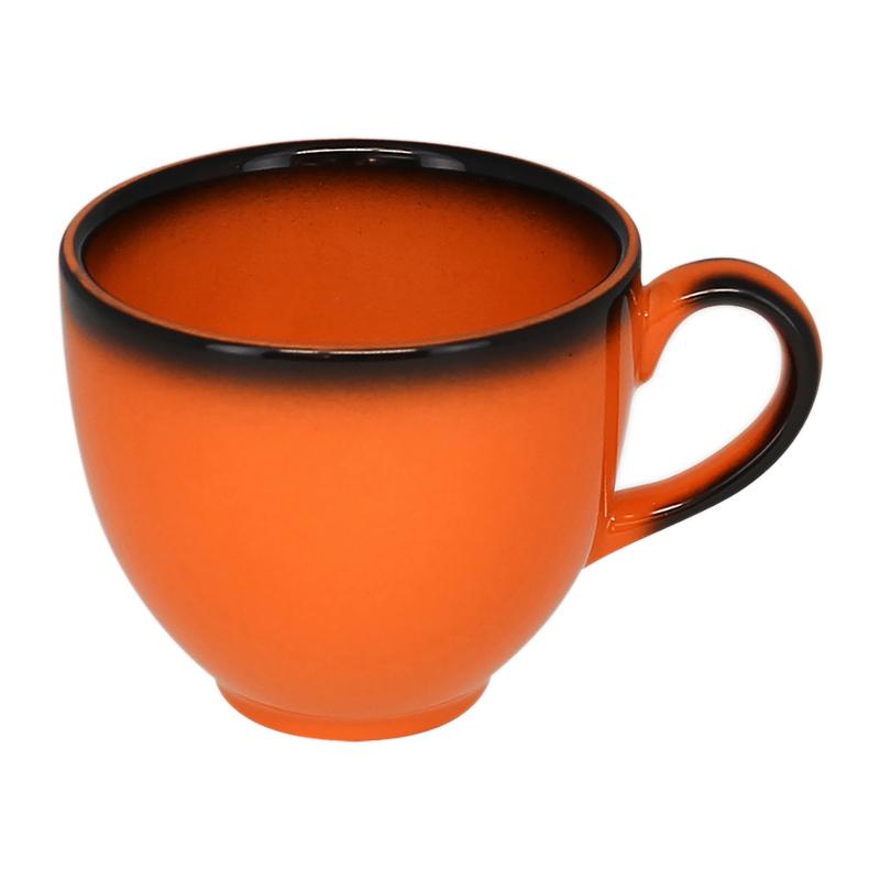 Šálek na kávu 28 cl - oranžová
