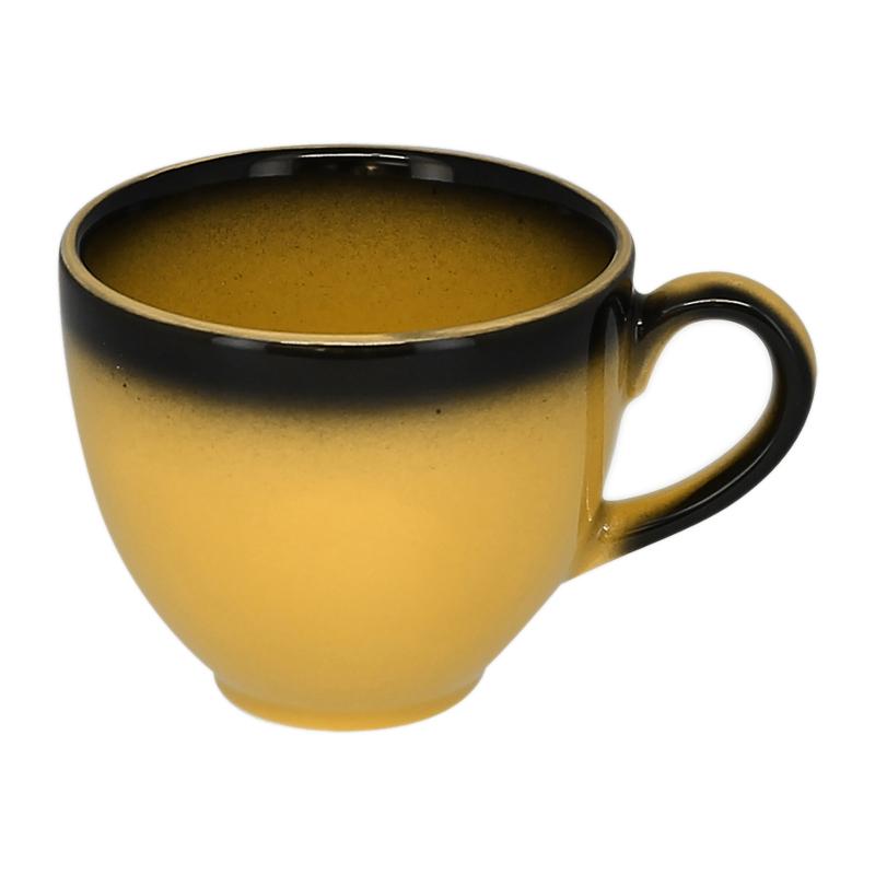 Šálek na kávu 28 cl - žlutá