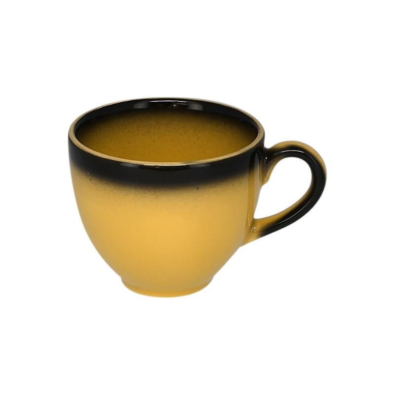 Šálek na kávu 20 cl - žlutá