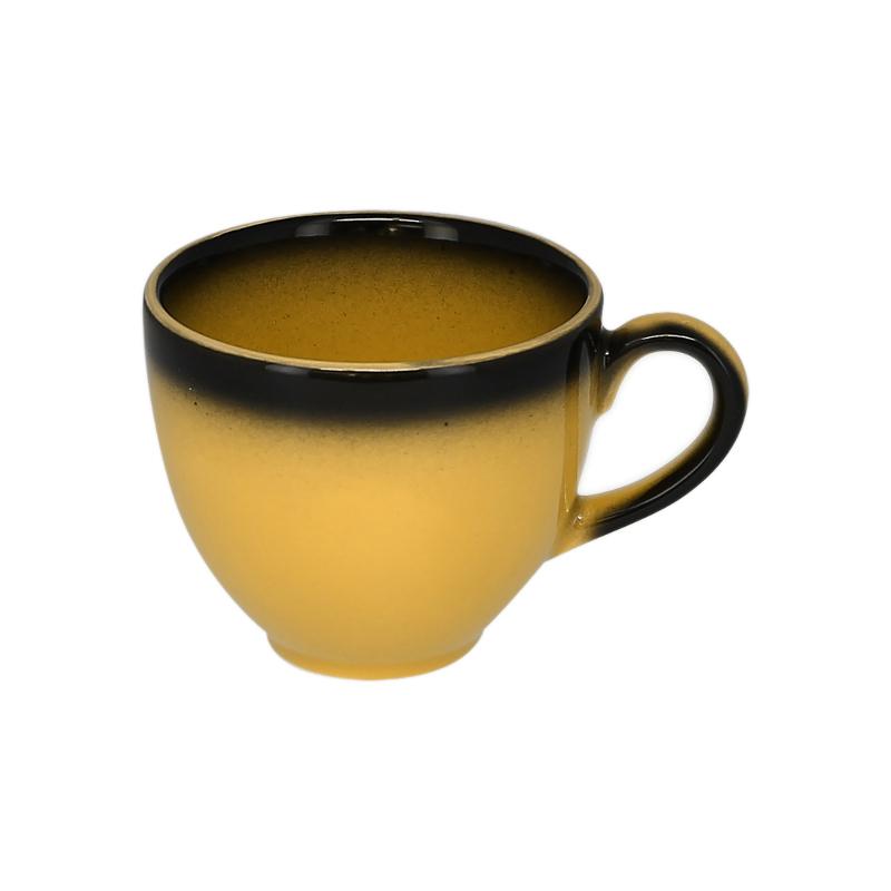 Šálek na kávu 23 cl - žlutá