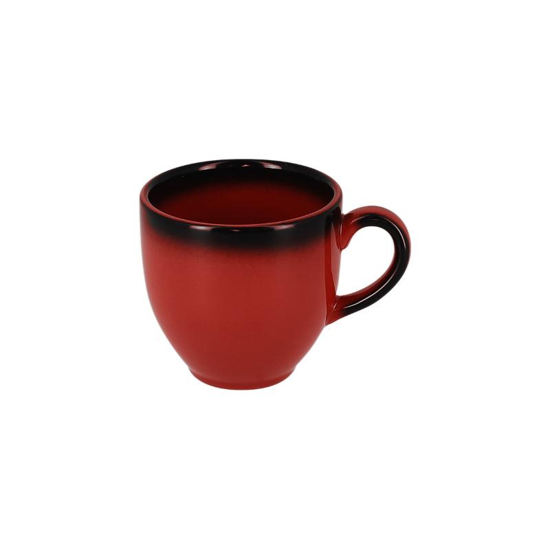 Šálek na espresso 9 cl - červená