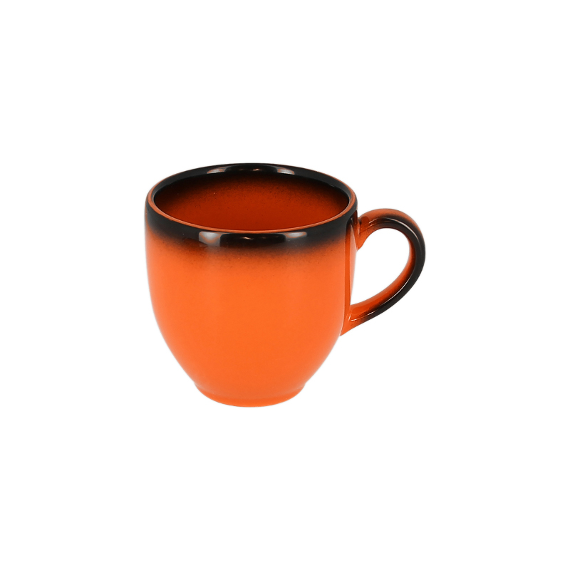 Šálek na espresso 9 cl - oranžová