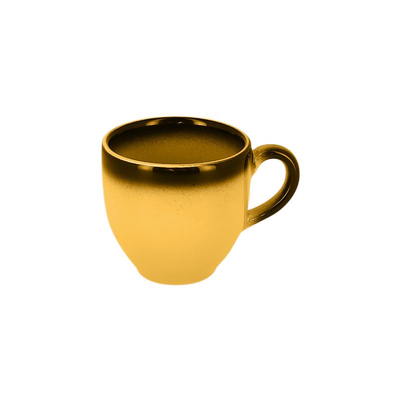 Šálek na espresso 9 cl - žlutá