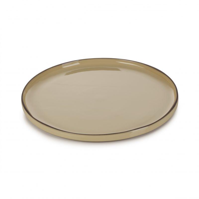 Talíř kulatý 30 cm - nutmeg