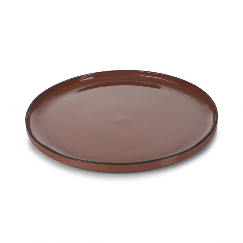 Talíř kulatý 30 cm - cinnamon