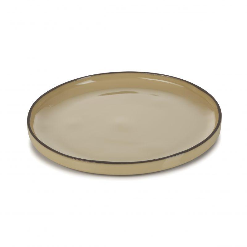 Talíř kulatý 21 cm - nutmeg