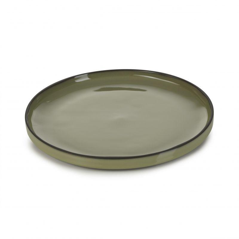 Talíř kulatý 21 cm - cardamom