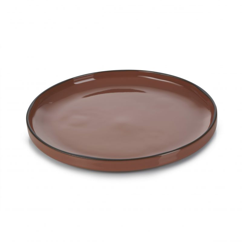 Talíř kulatý 21 cm - cinnamon