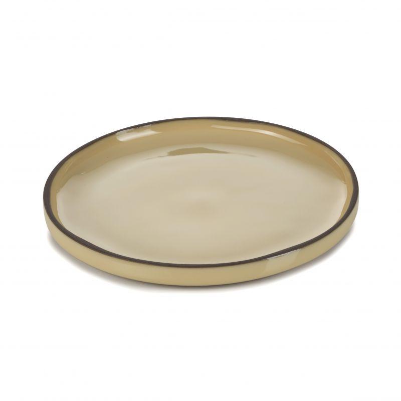 Talíř kulatý 15 cm - nutmeg