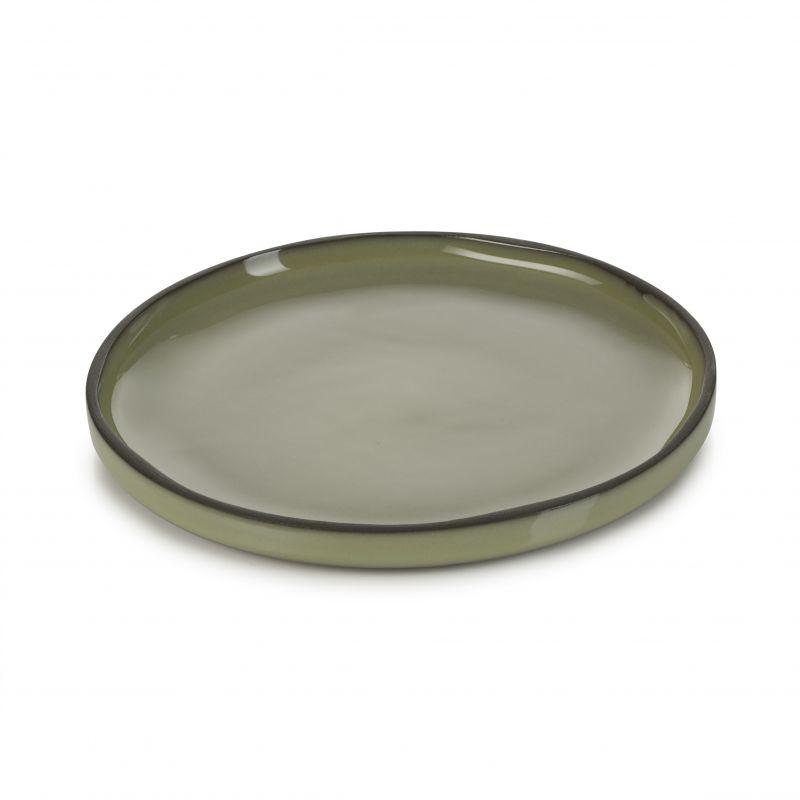 Talíř kulatý 15 cm - cardamom
