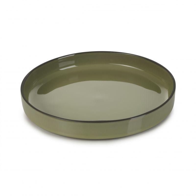 Talíř gourmet kulatý 23 cm - cardamom