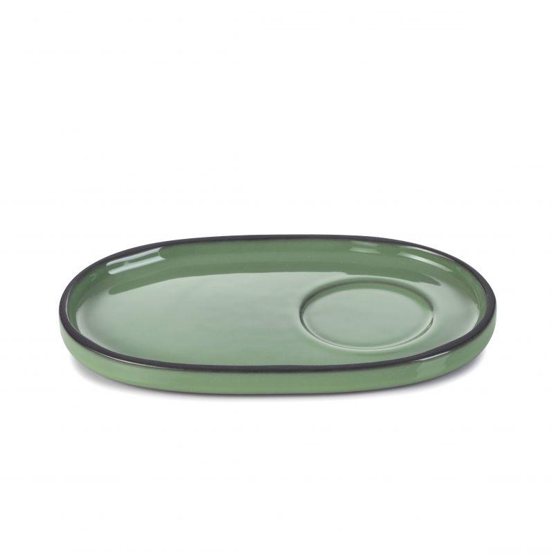 Podšálek 13,5×8,3 cm - mint
