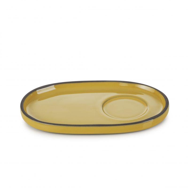 Podšálek 13,5×8,3 cm - tumeric