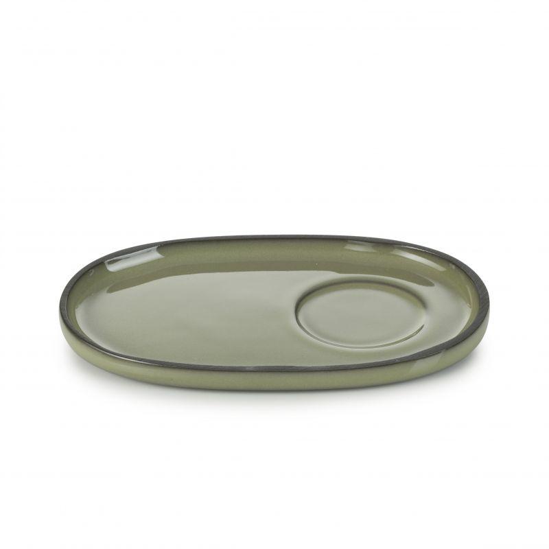 Podšálek 13,5×8,3 cm - cardamom
