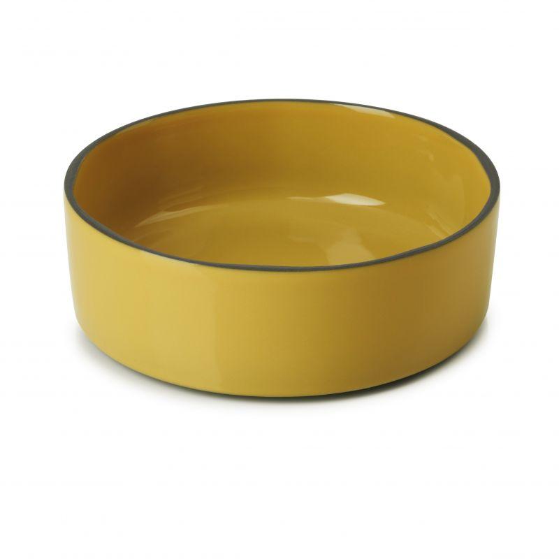 Talíř gourmet kulatý 14 cm - tumeric