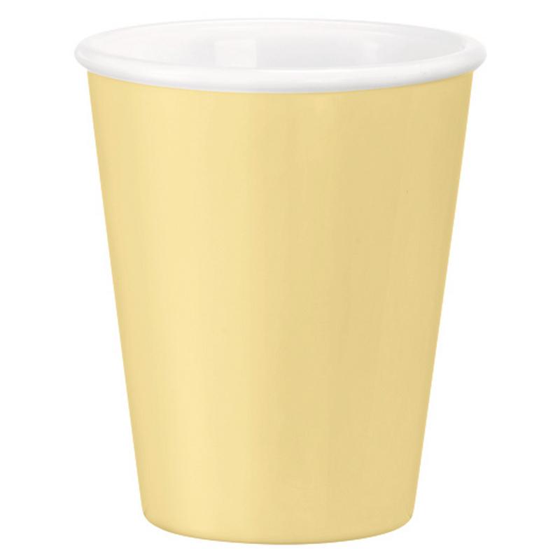 Šálek 21,5 cl - žlutá