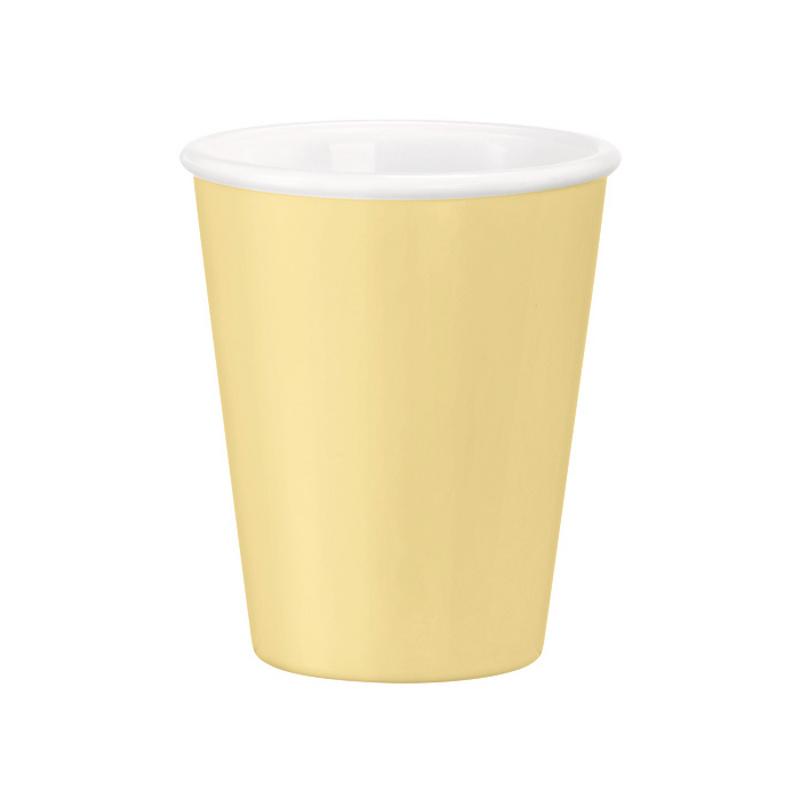 Šálek 9,5 cl - žlutá