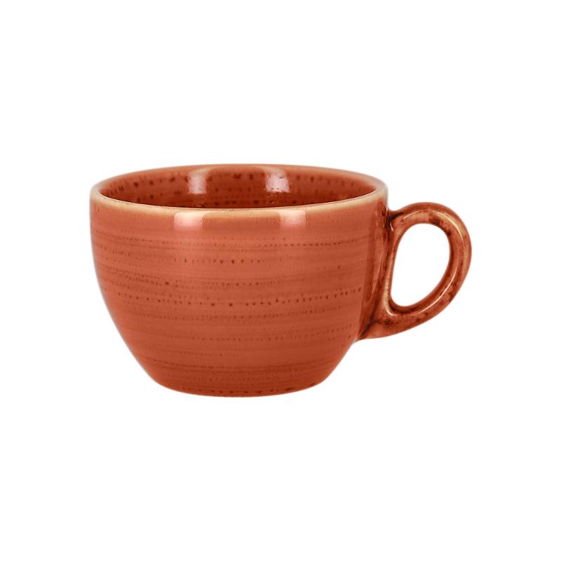 Šálek na kávu 23 cl - coral