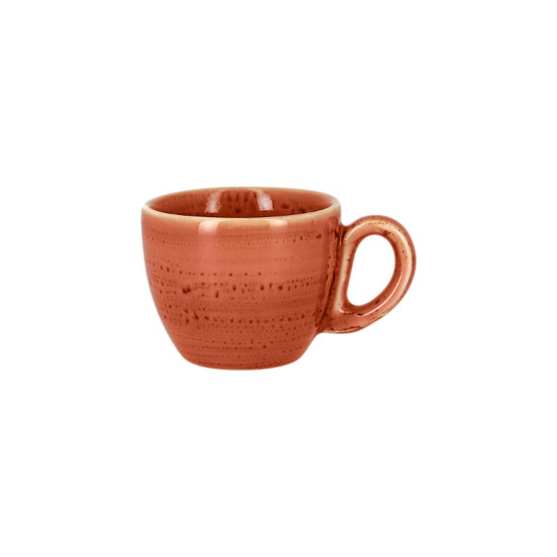 Šálek na espresso 8 cl - coral