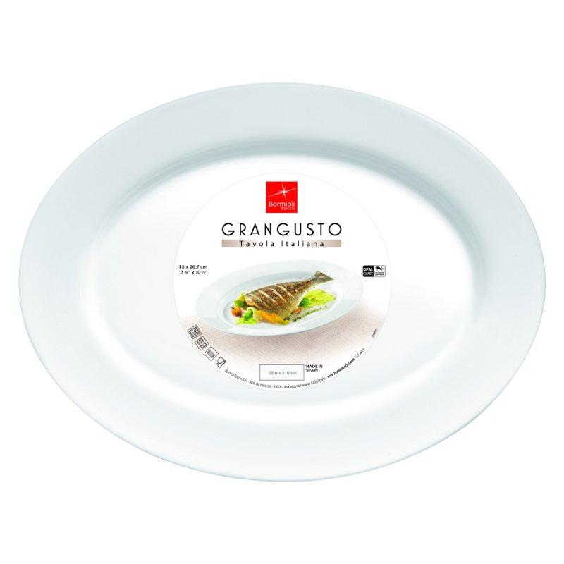 Grangusto talíř 35 cm x 26,7 cm - FISH