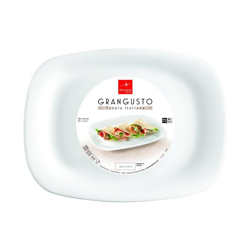 Grangusto talíř 28 cm x 21 cm - PIADINA