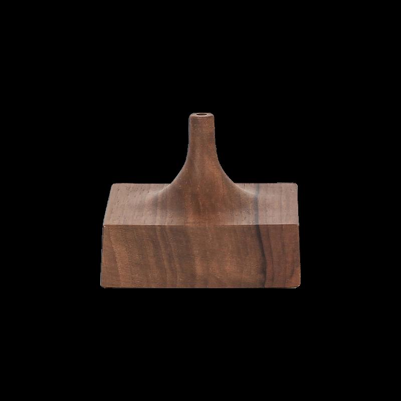 Čtvercový stojan - 1 otvor - dřevěný