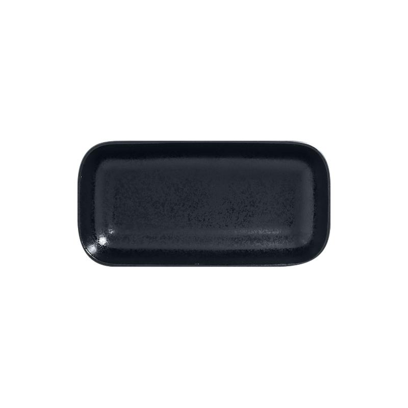 Miska obdélná 22 x 11 cm - černá