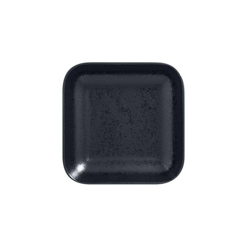 Miska čtvercová 15 x 15 cm - černá