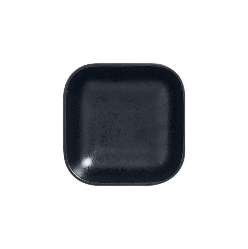 Miska čtvercová 11 x 11 cm - černá