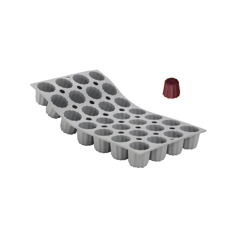 Silikonová forma - bordelais 5,5×5 cm