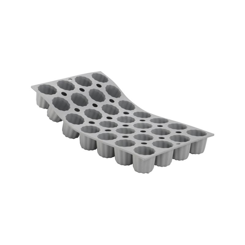 Silikonová forma - bordelais 3,5×3,5 cm