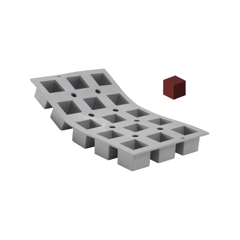 Silikonová forma - kostka 5×5×5 cm