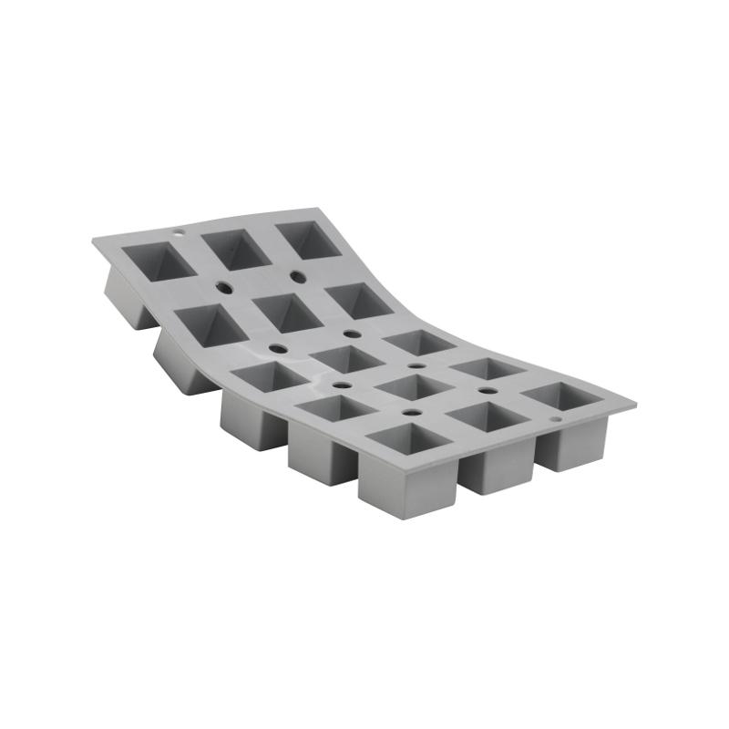 Silikonová forma - kostka 3,5×3,5×3,5 cm